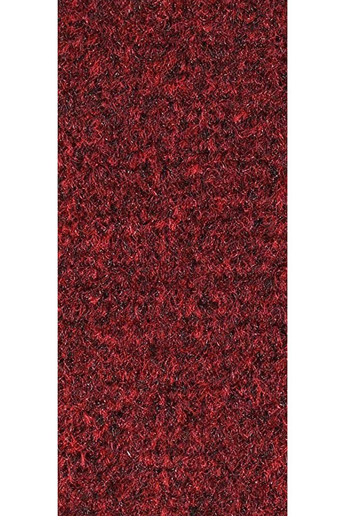 27 Ground Commercial Custom Size Runner with Rubber Marine Backing Rugs Red