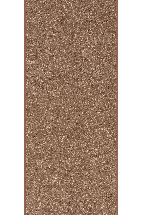 27 Ground Solid Color Custom Size Runner Area Rug Brown