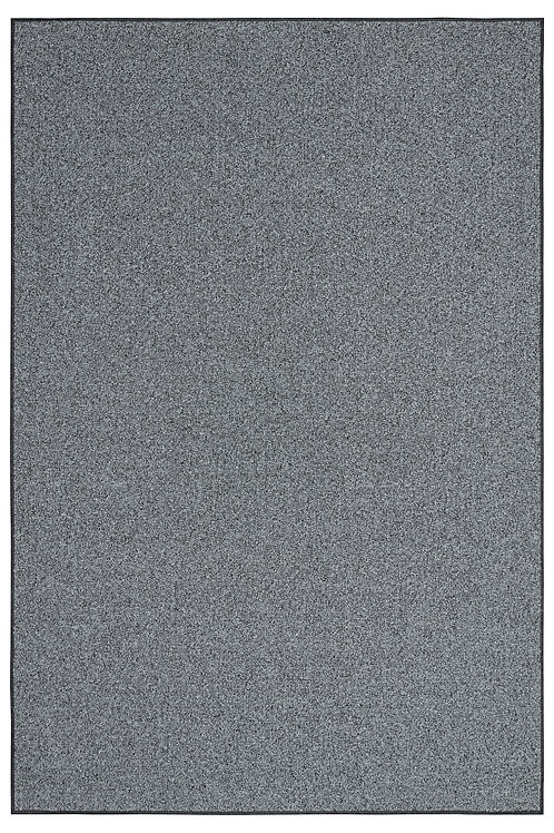 Outdoor Artificial Turf Grey Area Rugs With Premium Non Skid Backing