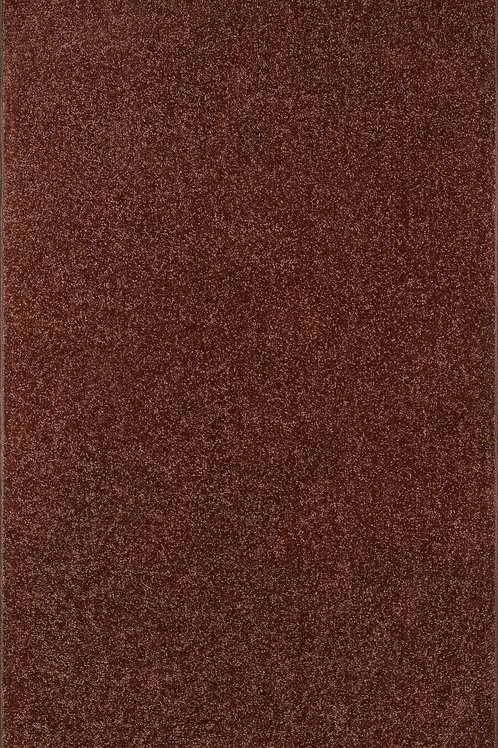 27 Ground Pet Friendly Solid Color Area Rugs Chocolate