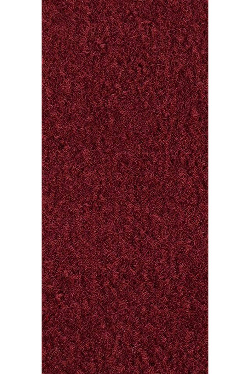 27 Ground Commercial Custom Size Runner with Rubber Marine Backing Rugs Burgundy