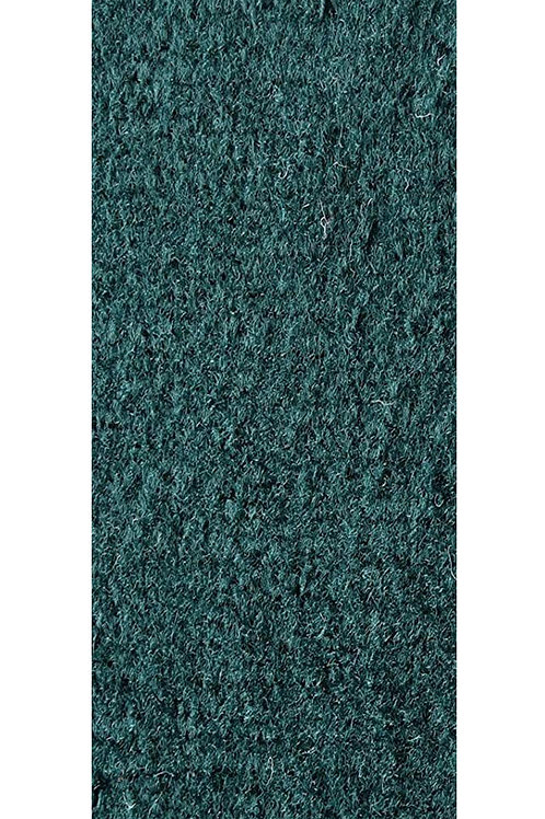 27 Ground Commercial Custom Size Runner with Rubber Marine Backing Rug Green