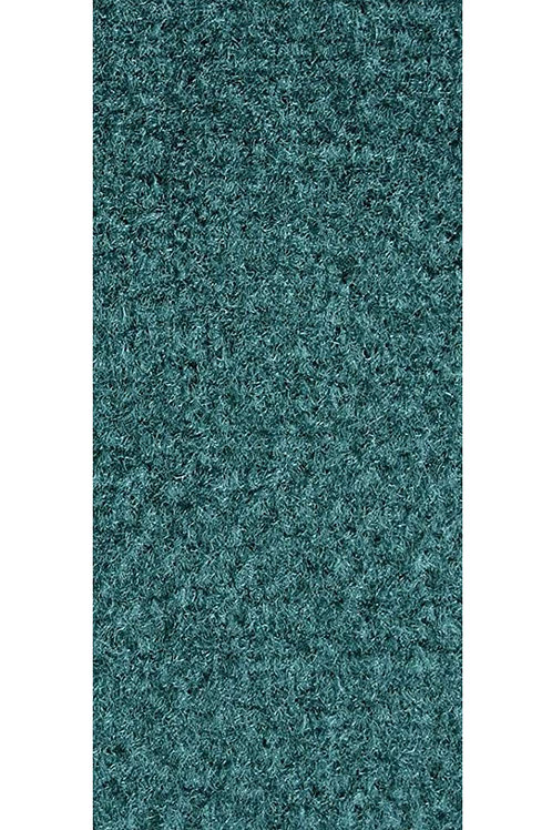 27 Ground Commercial Custom Size Runner with Rubber Marine Backing Rugs Teal