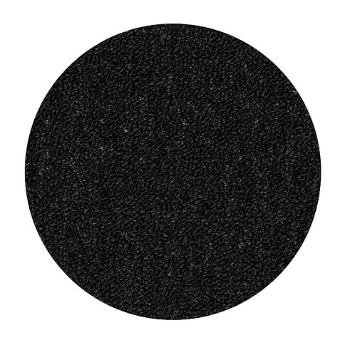 27 Ground Indoor Outdoor Commercial Round Shape Area Rugs Black