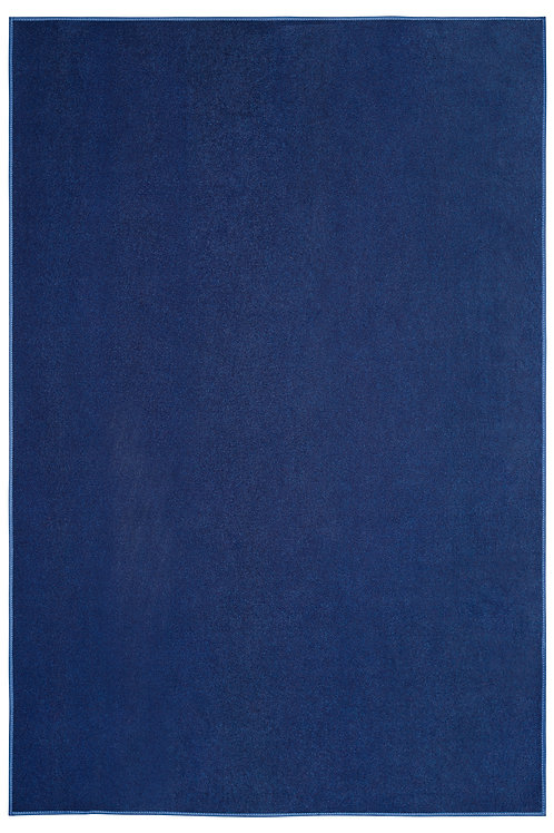 Outdoor Navy Area Rugs with a Low Pile Height for Patio, porch & Basement
