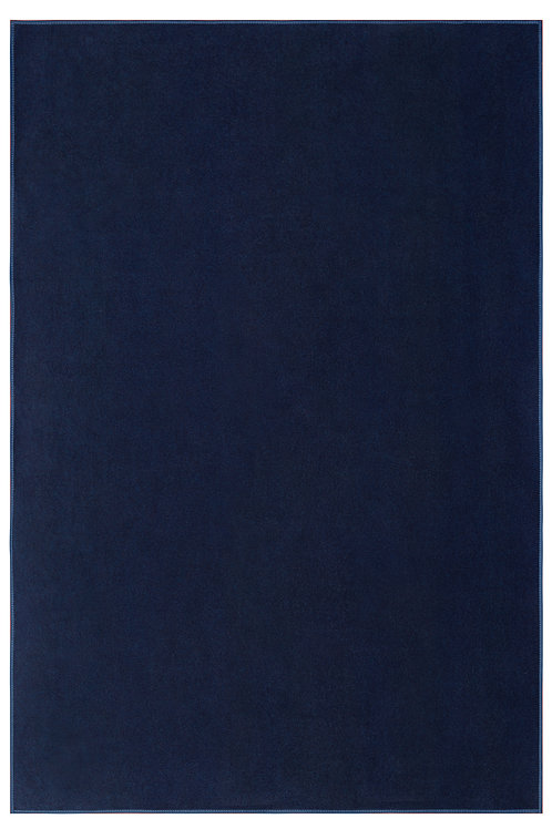 Indoor/Outdoor Marine Navy Area Rugs with Premium Non Skid Backing