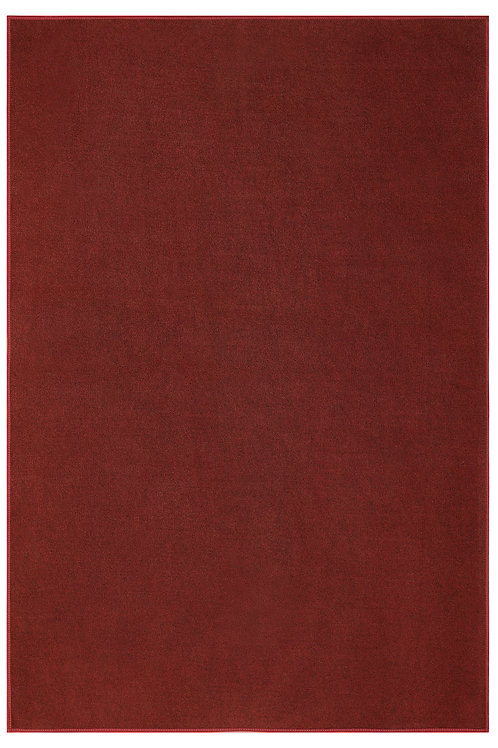 Smooth and Soft Outdoor Burgundy Rugs with a Low Pile Height for Patio & Porch