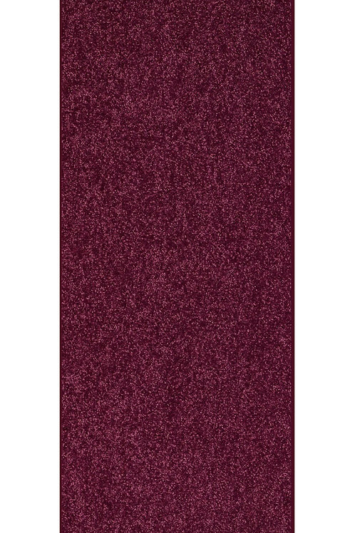 27 Ground Solid Color Custom Size Runner Area Rug Cranberry