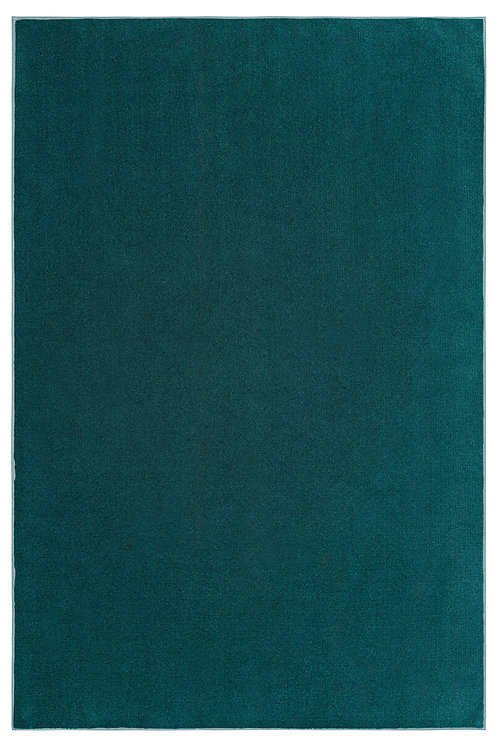 Indoor/Outdoor Marine Teal Area Rugs with Premium Non Skid Backing