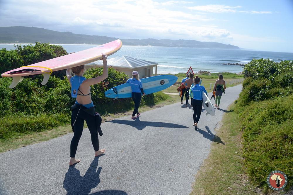Серифинг Серф трип Дорога Садов ЮАР Unravel Surf Travel