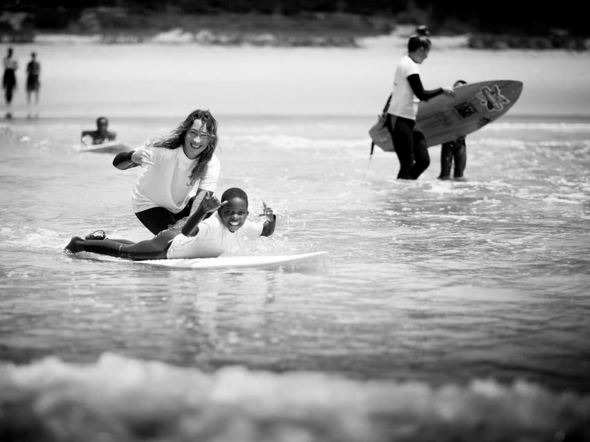 Волонтерство Серфинг Серф трип Дорога Садов ЮАР Unravel Surf Travel