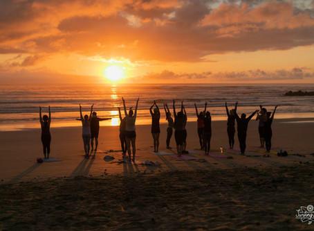 Йога-серф трансформация в Южной Африке.