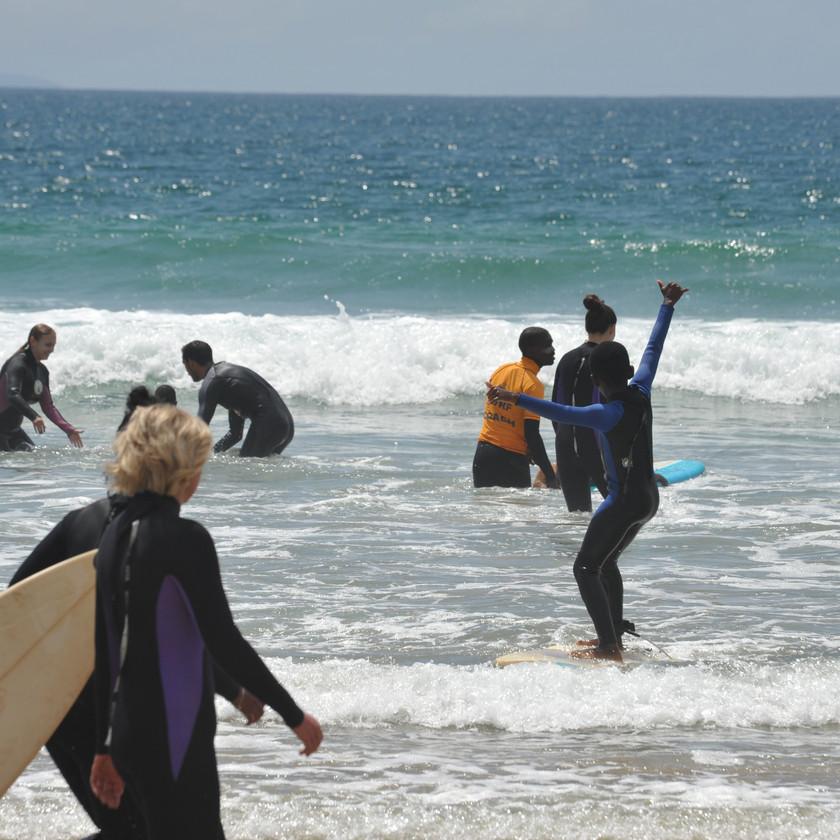 благотворительность Серф трип Дорога Садов ЮАР Unravel Surf Travel