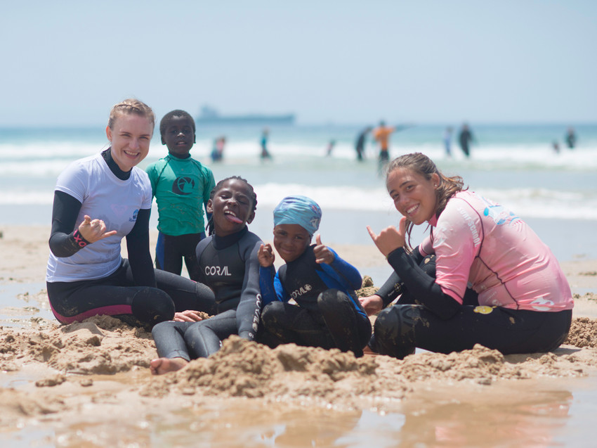 Благотворительность Серфинг Серф трип Дорога Садов ЮАР Unravel Surf Travel