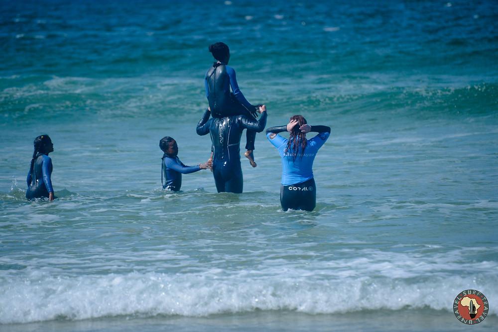 Волонстерство Серф трип Дорога Садов ЮАР Unravel Surf Travel