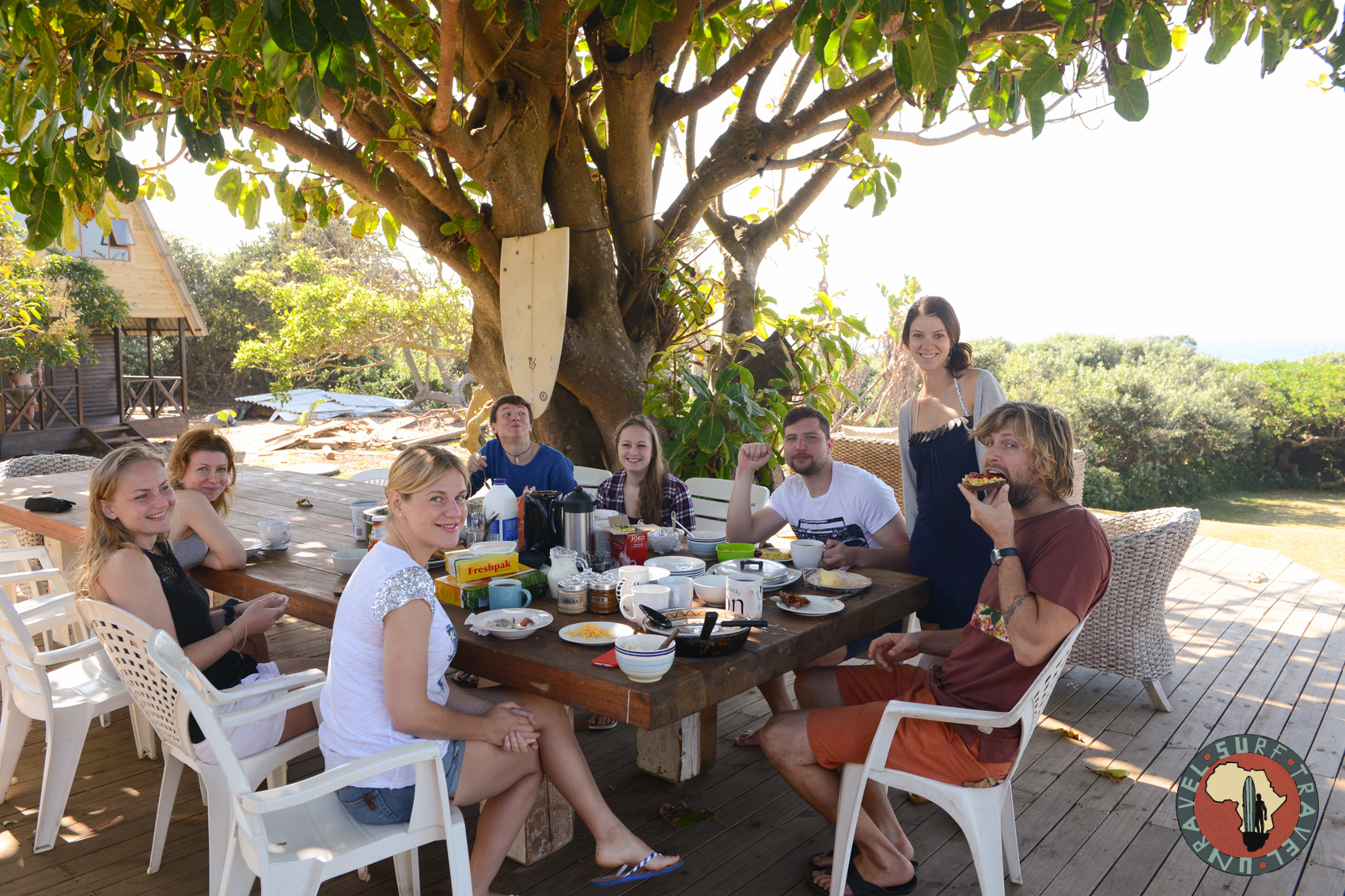 Серф трип Квазулу-Натал ЮАР Unravel Surf Travel