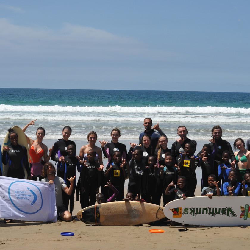 волонтеры Серф трип Дорога Садов ЮАР Unravel Surf Travel