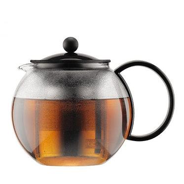 إبريق شاي اسآم من بودم مع فلتر، 1 لتر