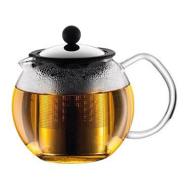 إبريق شاي اسآم من بودم مع فلتر، 0.5 لتر
