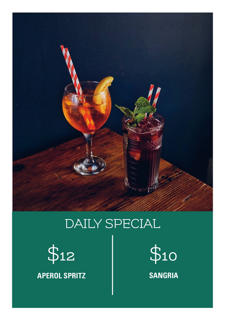 Daily Drinks Special
