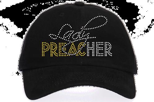 LADY PREACHER BLING HAT
