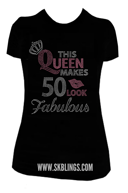FAB BIRTHDAY BLING TEE