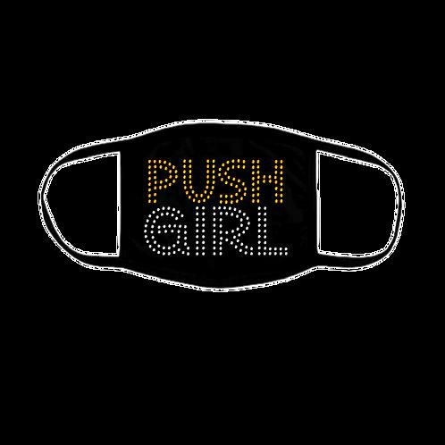 PUSH GIRL BLING MASK