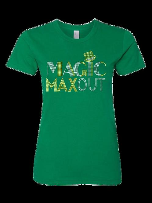 MAGIC GREEN BLING TEE