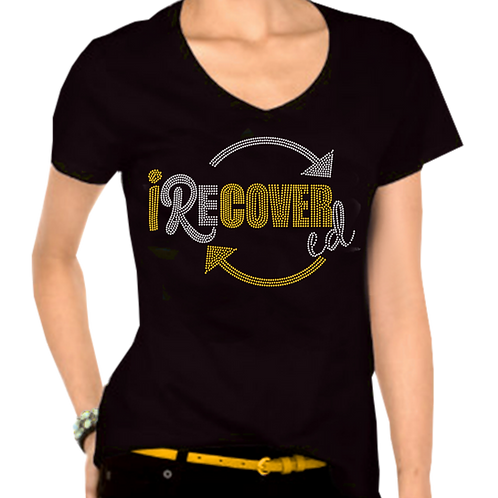 I RECOVERED BLING TEE