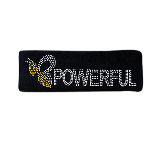 BE POWERFUL BLING HEAD BAND