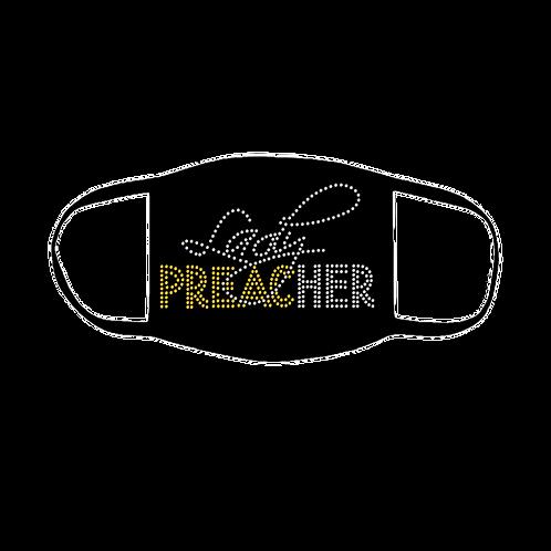 LADY PREACHER BLING MASK