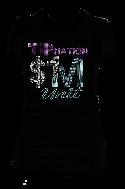 TIP NATION MILLION BLING TEE