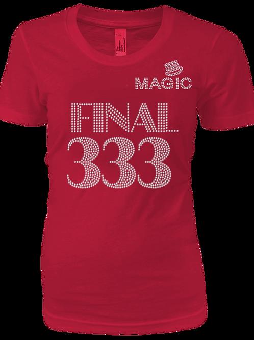 MAGIC RED BLING TEE