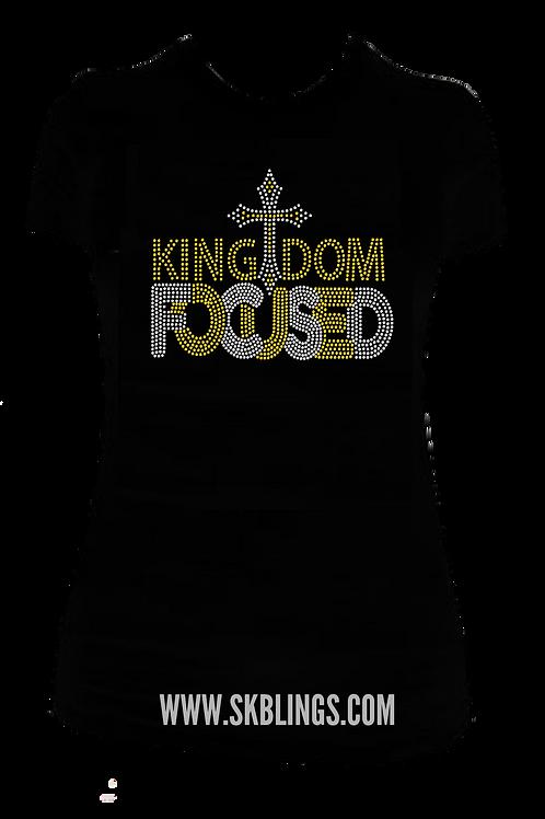 KINGDOM FOCUSED BLING TEE
