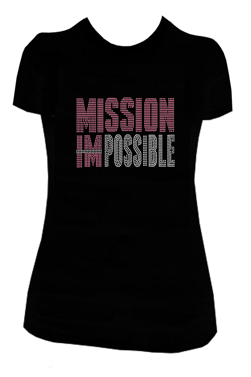 MISSION POSSIBLE BLING TEE