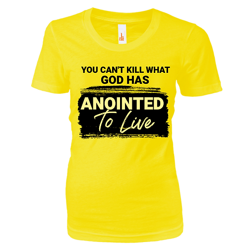 ANOINTED TO LIVE