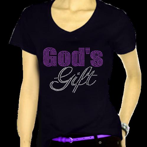 God's Gift Bling TEE
