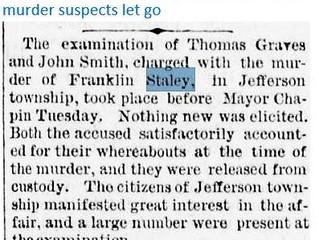 Frank Staley Murder