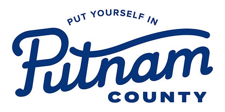 Putnam County Logo with Tagline Dark Blu