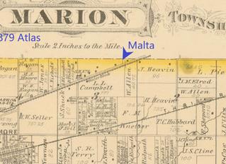 Malta Flag Station and Nicholsonville