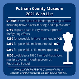 Putnam County Museum wish list.png