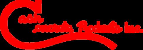 cash concrete logo transparent backgroun