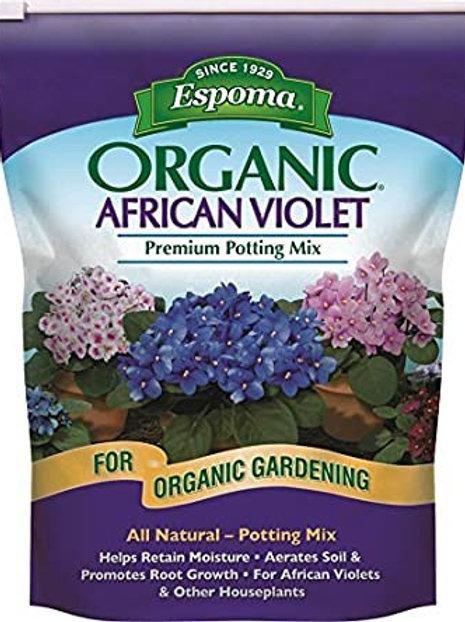 Espoma African Violet Potting Mix 4qt
