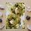 "Thumbnail: Peridot Fluid Art  5x7"""