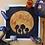 "Thumbnail: Mushroom Midnight Moon Watercolor Art 10x10"""