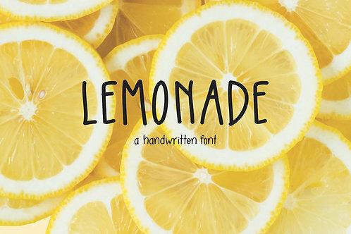 Lemonade - A Handwritten Font