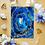 """Thumbnail: Lapis Lazuli Fluid Art  5x7"""""""