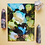 """Thumbnail: Chrysocolla Fluid Art  5x7"""""""
