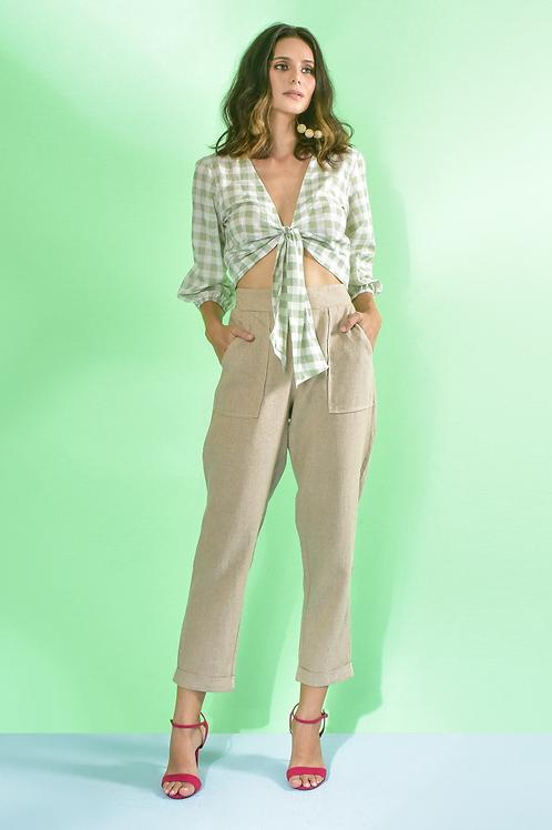 Calça Pijama Linho