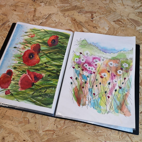 Eco Presentation Display Books: A4 with 20 (40 sides) Pockets